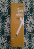 Scritti cattolici Appunti di un cronista cristiano
