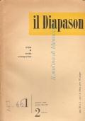 Il Diapason: rivista di musica contemporanea (n. 1-2 gennaio 1952) Anno III n. 1