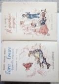 Coppia di libri di F. H. Burnett (Sara Crewe Reginella prigioniera - Il giardino segreto)