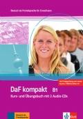 DaF kompakt. Lehr- und Arbeitsbuch mit 2 Audio-CDs. B1: Deutsch als Fremdsprache für Erwachsene