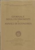 Giornale degli economisti e annali di economia. Volume 52 (Nuova Serie), Numeri 10-12, Ottobre-Dicembre 1993