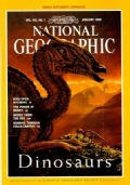 National Geographic January 1993 - Dinosaurs