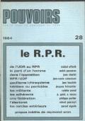 Pouvoirs : revue française d'études constitutionnelles et politiques. 28 (1984)