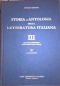 Antologia della letteratura italiana. II Dal Cinquecento alla fine del Settecento. Parte prima: il Cinquecento e il Seicento