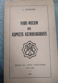 Alexandre Volguine, Vade-mecum des aspect astrologicques