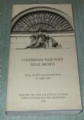 Conferenza nazionale degli archivi (Roma, Archivio centrale dello Stato, 1-3 luglio 1998)