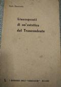 Lineamenti di un'estetica del trascendente - Corso tenuto all'Angelicum di Milano