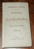 FORMULAIRE DES ALCAOIDES ET DES GLUCOSIDES
