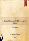 Ferdinando Innamorati (1877-1994) e il socialismo folignate
