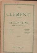12 sonatine per pianoforte