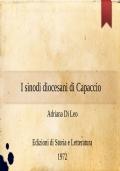I sinodi diocesani di Capaccio