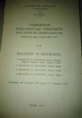 COMMISSIONE PARLAMENTARE D'INCHIESTA SUGLI EVENTI DEL GIUGNO-LUGLIO 1964 (PIANO SOLO E DEVIAZIONI DEL SIFAR). RELAZIONI DI MAGGIORANZA