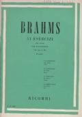 Brahms 51 esercizi (op.Extra) per pianoforte. Vol. II (n.1 a 25)