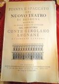 Pianta E Spaccato Del Nuovo Teatro Di Bologna