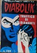 Diabolik - anno XI n. 8 - Traffico di diamanti
