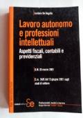 LAVORO AUTONOMO E PROFESSIONI INTELLETTUALI