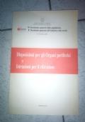Disposizioni per gli organi periferici e Istruzioni per il rilevatore
