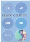 Te lo giuro. Claire Calman