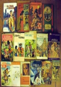 Lotto 16 libri ragazzi classici narrativa Sandokan Far West Salgari Kipling CARW