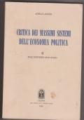 Critica dei massimi sistemi dell'economia politica II: dall'individuo allo stato