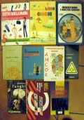 Lotto 10 libri manuali per ragazzi giochi di carte funghi fotografia moda bridge CARW