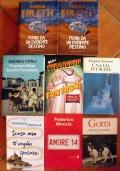 Lotto 8 libri romanzi italiani Faletti Moccia Villaggio Vitali amore 14 ragazzi CARW