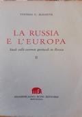 La russia e l'europa vol.II studi sulle correnti spirituali in Russia