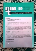 Rivista di Teologia Morale N. 169 GENNAIO-MARZO  - 2011