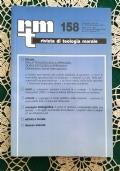 Rivista di Teologia Morale N. 158 APRILE-GIUGNO  - 2008