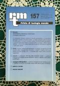 Rivista di Teologia Morale N. 157 GENNAIO-MARZO  - 2008
