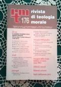 Rivista di Teologia Morale N. 176 OTTOBRE-DICEMBRE  - 2012