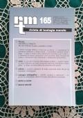 Rivista di Teologia Morale N. 156 OTTOBRE-DICEMBRE  - 2007