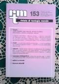Rivista di Teologia Morale N. 149 GENNAIO-MARZO  - 2006