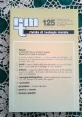 Rivista di Teologia Morale N. 139 LUGLIO-SETTEMBRE  - 2003