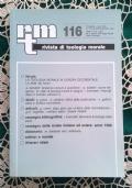 Rivista di Teologia Morale N. 115 LUGLIO-SETTEMBRE  - 1997
