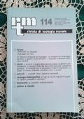 Rivista di Teologia Morale  - N. 113 GENNAIO-MARZO 1997