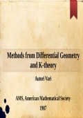 Methods from Differential Geometry and K-theory