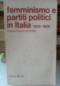 Femminismo e partiti politici in Italia 1919-1926