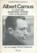 LE VOCI DEL QUARTIERE POVERO E ALTRI SCRITTI GIOVANILI inediti di Albert Camus 2