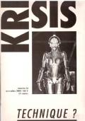 KRISIS. Revue d'idées et de débats: POLITIQUE ? (numéro 28, juin 2006)