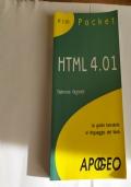 HTML 4.01 - la guida tascabile al linguaggio del Web