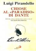 CHIOSE AL «PARADISO» DI DANTE. Edizione critica, introduzione e note di Giuseppe Bolognese.
