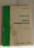 Prontuario di Analisi grammaticale