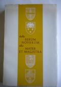 Dalla Rerum Novarum alla Mater et magistra