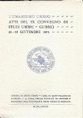 « Il romanzo di Perugia e Corciano » fra cortesia e umanesimo