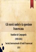 Gli storici umbri e la questione francescana