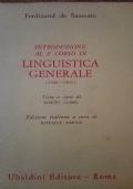 Introduzione al 2 corso di linguistica generale (1908 - 1909 )