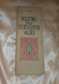 BOLLETTINO DELLA SOCIETA' DI STUDI VALDESI N 131 GIUGNO 1972