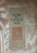 BOLLETTINO DELLA SOCIETA' DI STUDI VALDESI N 161 LUGLIO 1987