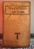 D'Azeglio i miei ricordi Vol XXXII